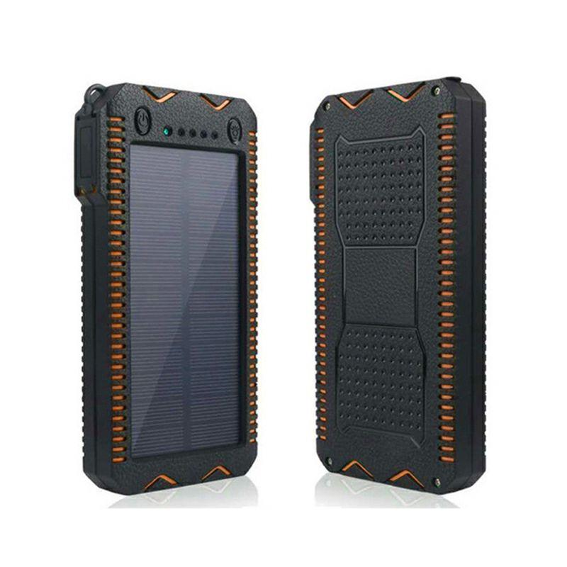 ソーラーモバイルバッテリーPSE認証済10000mAh